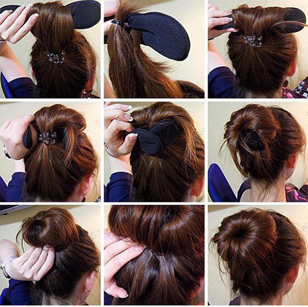 các kiểu buộc tóc đẹp